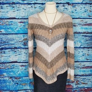Ultra Flirt Knit Sweater Size Large